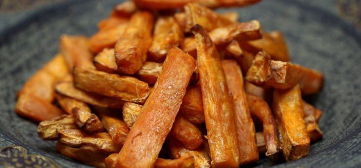 Sweet Potato French Fries (Yum!)